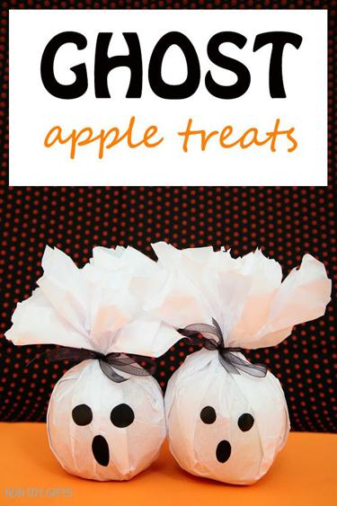 Ghost Apple Treats